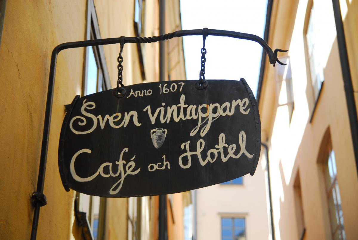 Hotel Sven Vintappare Gamla Stan Stockholm